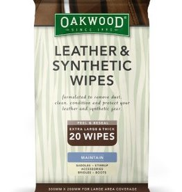 OAKWOOD Oakwood Leather & Synthetic Wipes