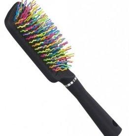JT INTERNATIONAL Rainbow Bristle Mane & Tail Brush