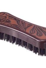 JT INTERNATIONAL Leather Print Face Brush