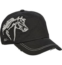AMERICAN WEST Vintage Embroidered Horse Head Cap