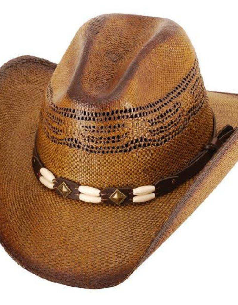 Western Express Brockway Straw Cowboy Hat