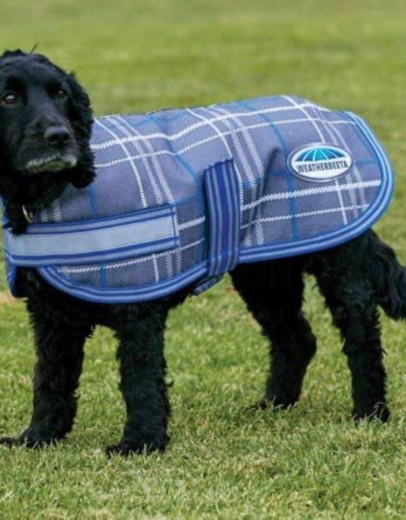WEATHERBEETA WeatherBeeta 1200D Dog Parka-Grey Plaid