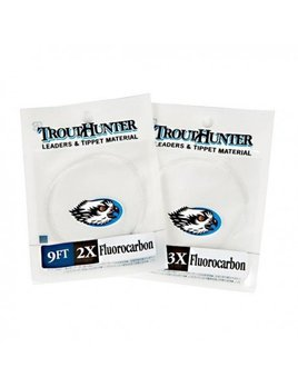 Trout Hunter TroutHunter Tapered Fluorocarbon Leader