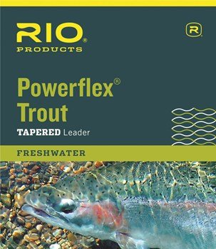 Rio Rio Powerflex Trout Tapered Nylon Leader