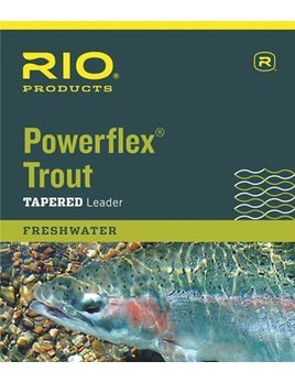 Rio Rio Powerflex Trout Tapered Nylon Leaders (3pk)