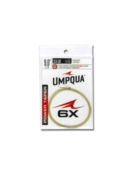 Umpqua Umpqua Power Tapered Nylon Leader (2pk)