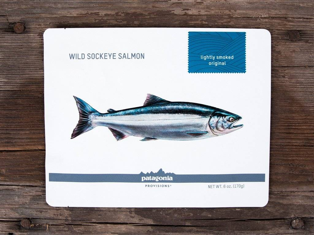 Patagonia Patagonia Provisions Lightly Smoked Wild Sockeye Salmon