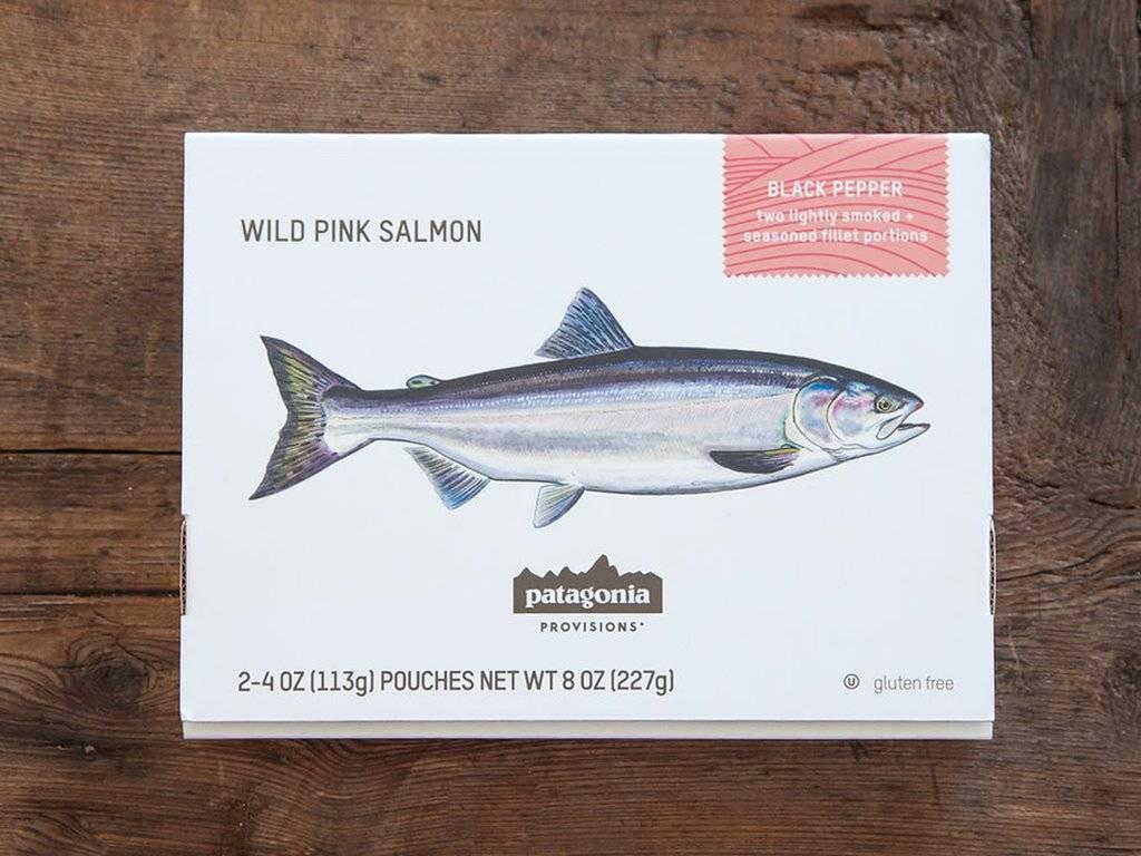 Patagonia Patagonia Provisions Lightly Smoked Wild Pink Salmon