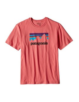 Patagonia Patagonia Men's Shop Sticker Cotton T-Shirt
