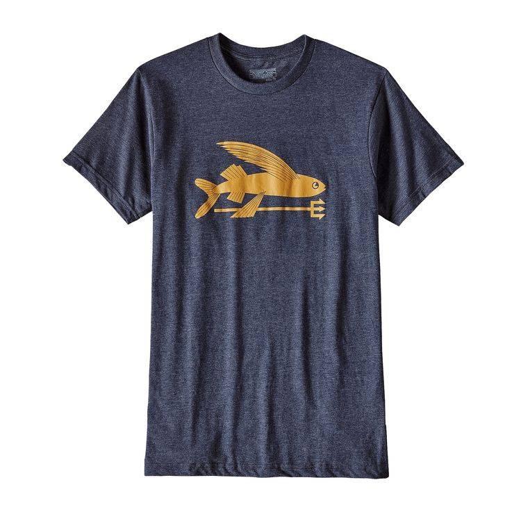 Patagonia Patagonia Men's Flying Fish Cotton Shirt