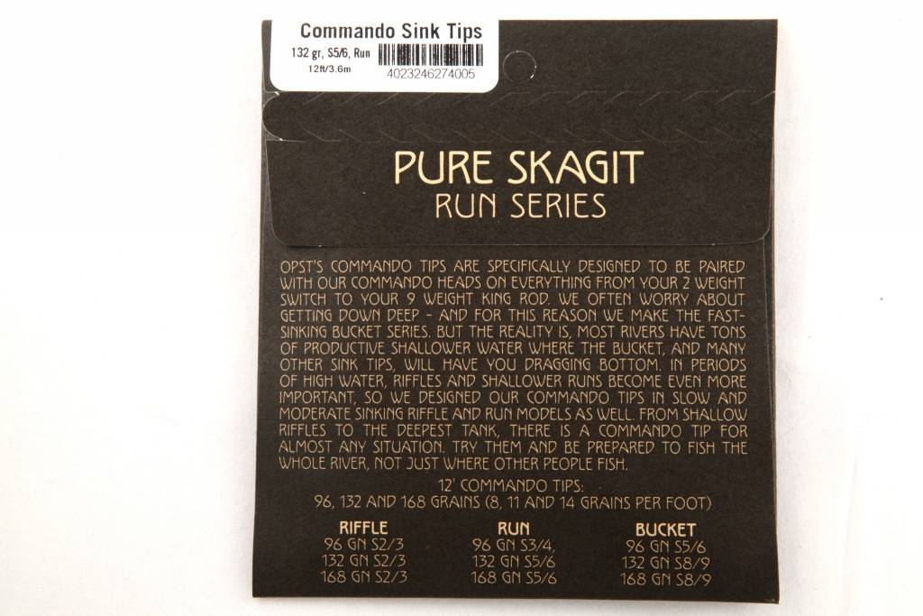 OPST OPST Pure Skagit Commando Tip 12'