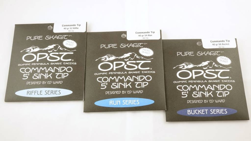 OPST OPST Pure Skagit Commando Micro Tip 5ft 40gr