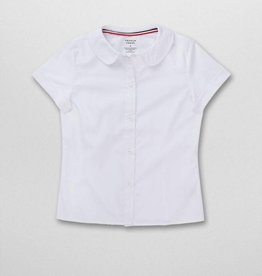 French Toast GIRLS FRENCH TOAST S/S POPLIN OXFORD SHIRT
