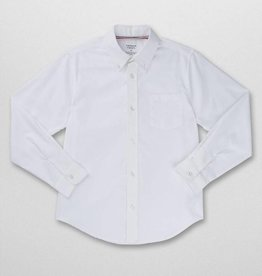 French Toast FT BOYS L/S OXFORD SHIRT WHITE