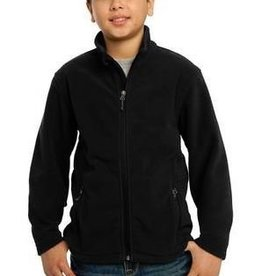 Port Authority YTH UNISEX FLEECE JACKET