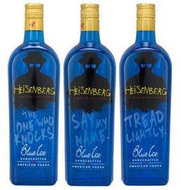 Blue Ice Vodka Breaking Bad Limited Edition Heisenberg 750 ml