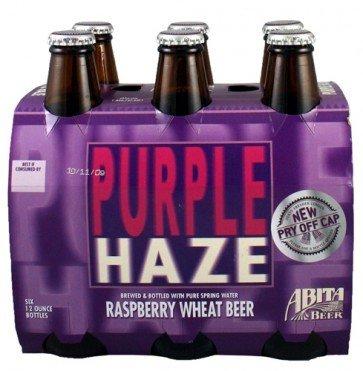 Abita Purple Haze Raspberry Lager btl 6pk