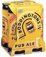 Boddingtons Pub Ale 16oz 4Pk Cn