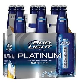 Bud Light Platinum 12oz 6Pk Btl