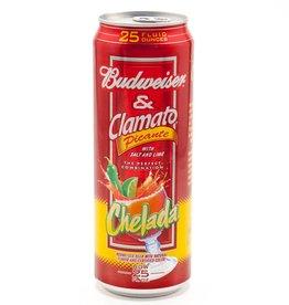 Budweiser & Clamato Picante 25oz (1)Can