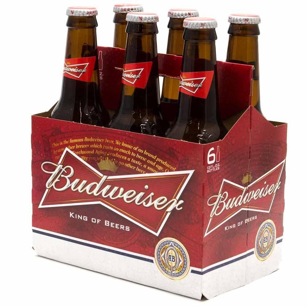 Budweiser 12 oz 6Pk Btl