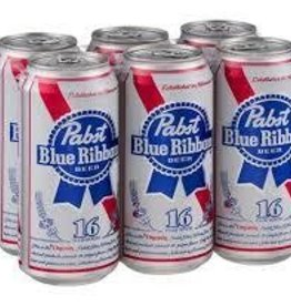 Pabst Blue Ribbon 16oz 6Pk Cans