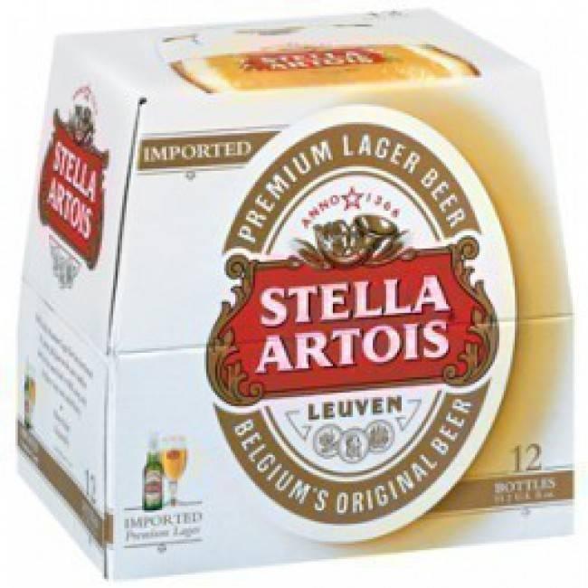 Stella Artois 12oz 12Pk Btl