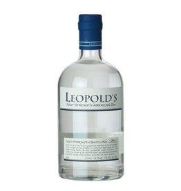 Leopold's Navy Strength American Whiskey 114Pf 750ml