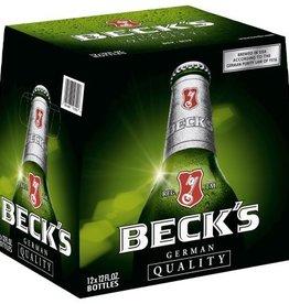 Beck's Pilsner 12oz 6Pk Btl