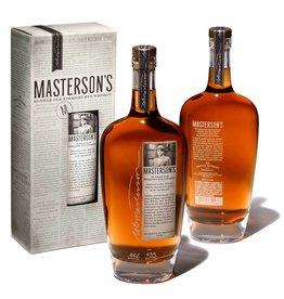 Masterson's Straight Rye Whiskey 10Yrs 750ml