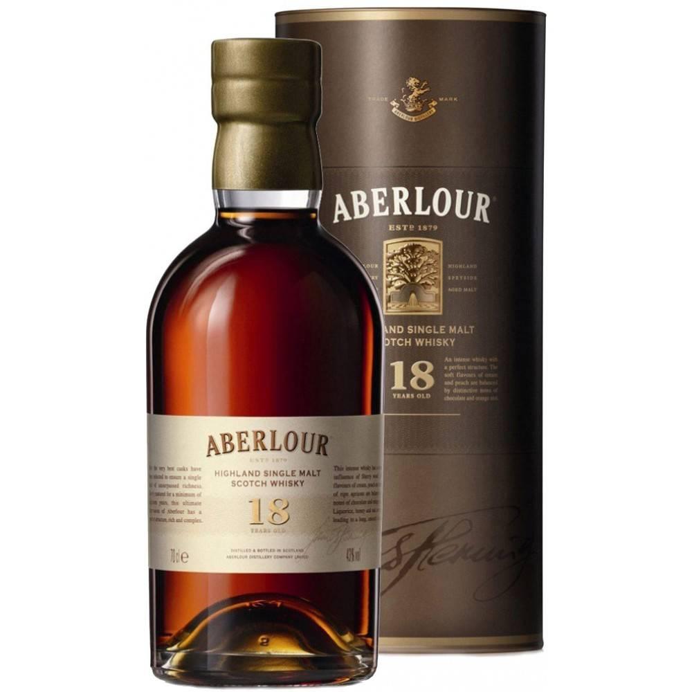 Aberlour Highland Single Malt Scotch Whiskey 18Yrs 750ml