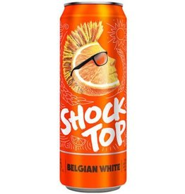 Shock Top Belgian White 25oz (1)Can