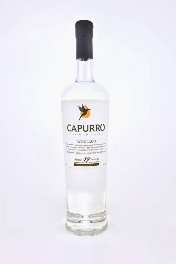 Capurro Premium Pisco Acholado(Aged) 750ml