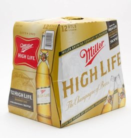 Miller HIgh Life 12oz 12Pk Btl