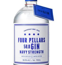 Four Pillars 58.8 Gin Navy Strength 750ml
