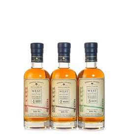 Sonoma County Distilling CA Bourbon 3-Pack 2ooml