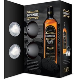 Bushmills Black Bush Gift Set 750ml 2 ice Balls