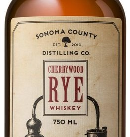 Sonoma County Cherrywood Rye Whiskey 750ml