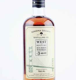 Sonoma County Bourbon Whiskey No. 3 750ml