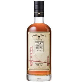 Sonoma County Bourbon Whiskey No. 1 750ml