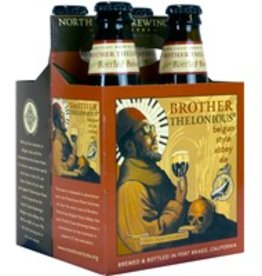 North Coast Brother Thelonious Belgian Abbey Ale 12oz 4Pk