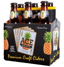 Ace Pineapple Cider 12oz 6Pk Btls