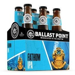Ballast Point Fathom IPA 12oz 6Pk Btls
