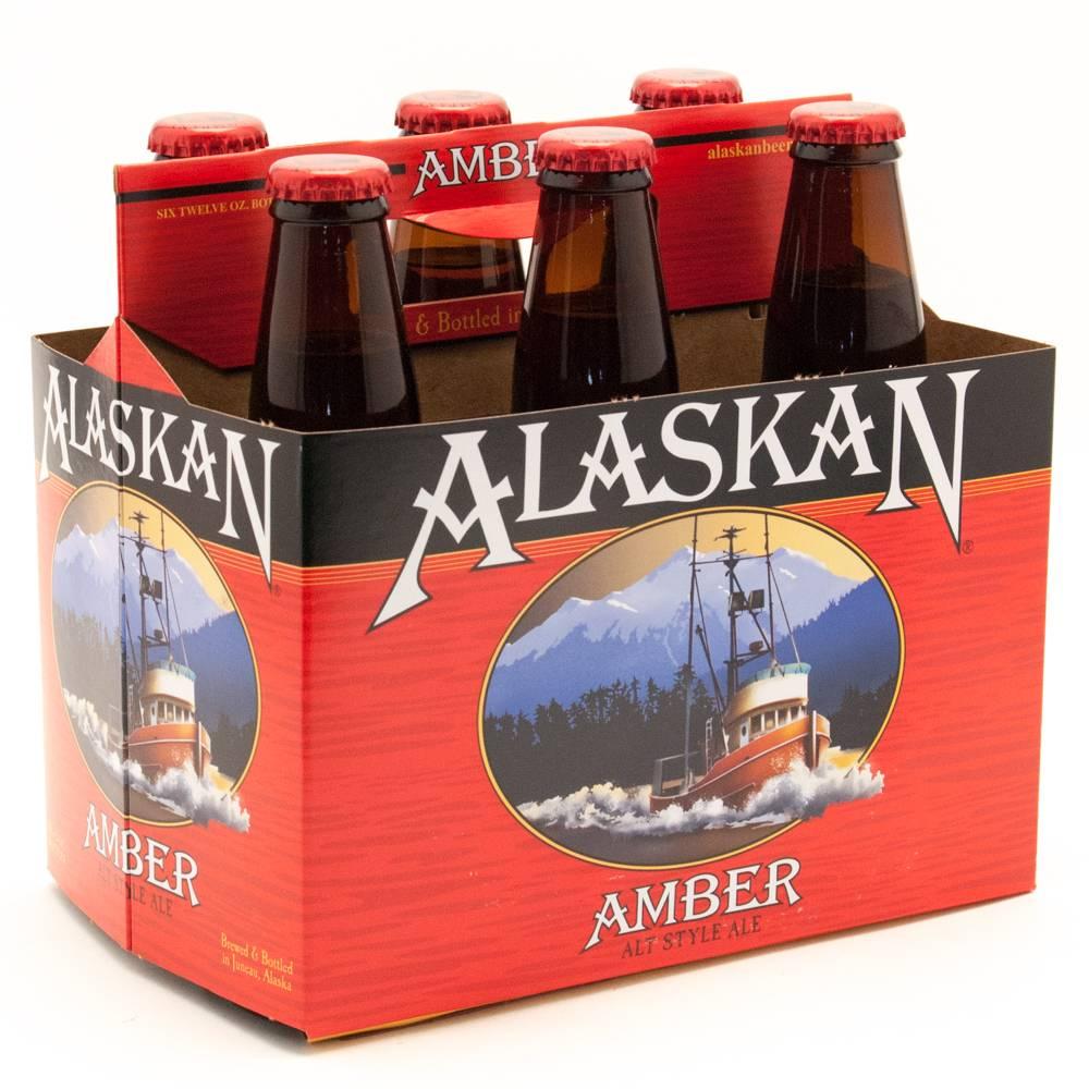 Alaskan Amber Alt Style Ale 12oz 6Pk Btls
