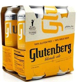 Glutenberg Blonde Ale 16oz 4Pk Cn