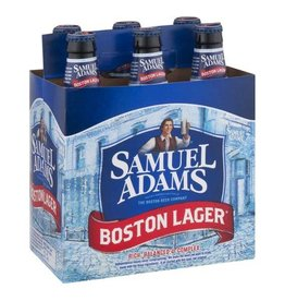 Sam Adams Boston Lager 6 pack btl 12 oz