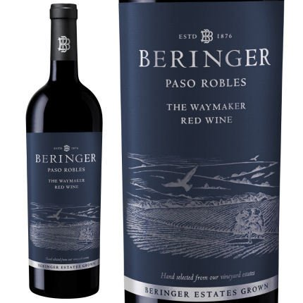 Beringer The Waymaker 2014 Paso Robles Red Wine 750ml