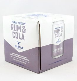 Cutwater Rum & Cola 12oz 4Pk Cans