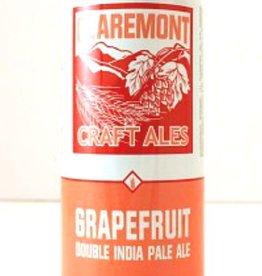 Claremont Craft Ales Grapefruit Double IPA 16oz 4Pk Cans