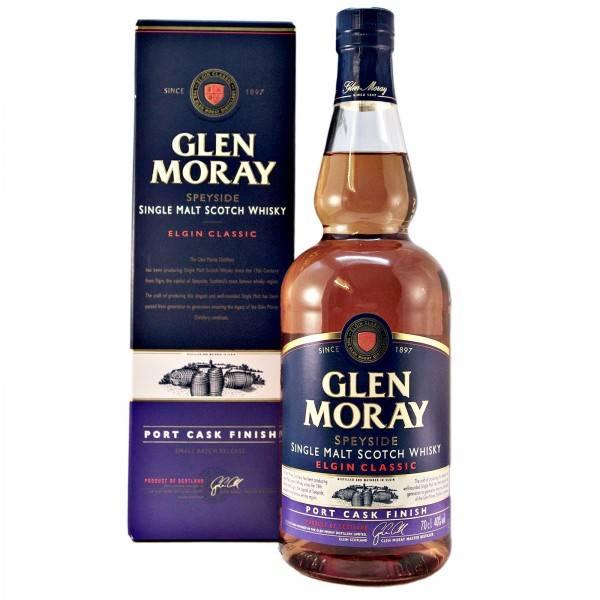Glen Moray Speyside Single Malt Scotch Whisky Elgin Classic Port Cask Finish 750ml